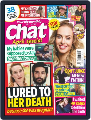 Chat Specials April 1st, 2020 Digital Back Issue Cover