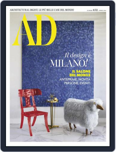 Ad Italia (Digital) April 1st, 2019 Issue Cover