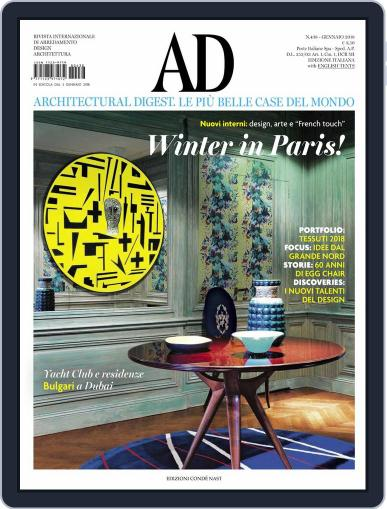 Ad Italia (Digital) January 1st, 2018 Issue Cover