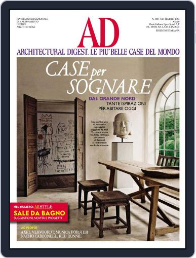 Ad Italia (Digital) September 8th, 2013 Issue Cover