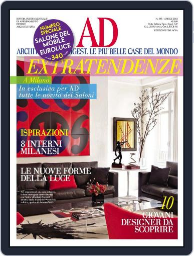 Ad Italia (Digital) April 15th, 2013 Issue Cover