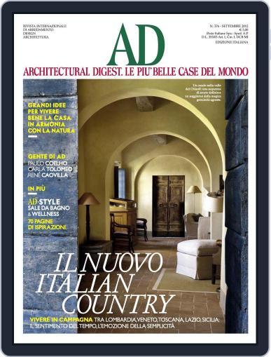 Ad Italia (Digital) September 7th, 2012 Issue Cover