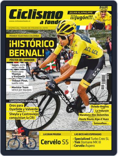 Ciclismo A Fondo (Digital) August 1st, 2019 Issue Cover