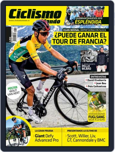 Ciclismo A Fondo (Digital) July 1st, 2019 Issue Cover