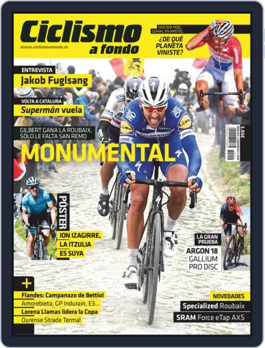 Ciclismo A Fondo (Digital) May 1st, 2019 Issue Cover