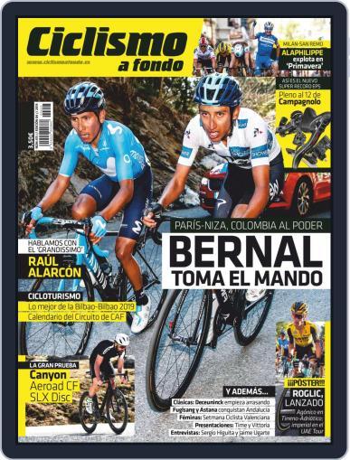 Ciclismo A Fondo (Digital) April 1st, 2019 Issue Cover