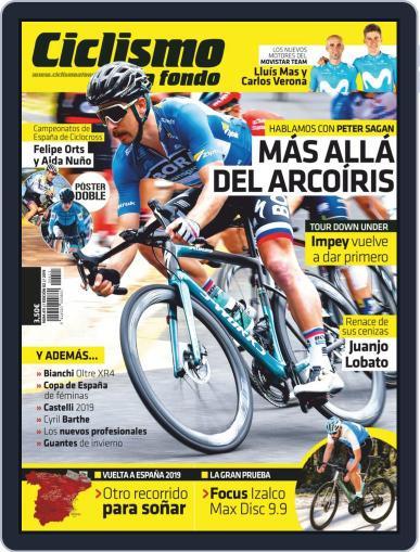 Ciclismo A Fondo (Digital) February 1st, 2019 Issue Cover