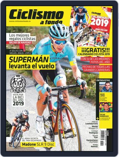 Ciclismo A Fondo (Digital) January 1st, 2019 Issue Cover