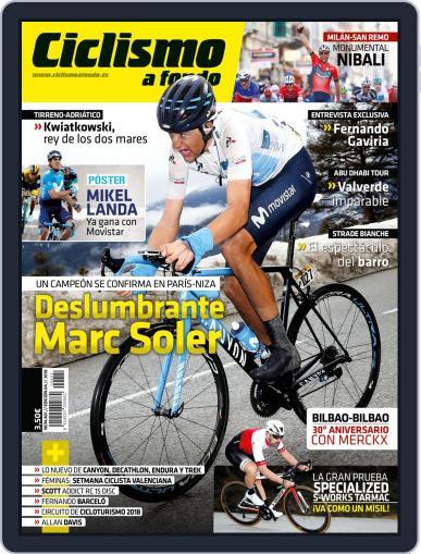 Ciclismo A Fondo (Digital) April 1st, 2018 Issue Cover