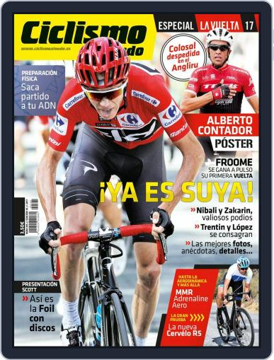 Ciclismo A Fondo (Digital) October 1st, 2017 Issue Cover
