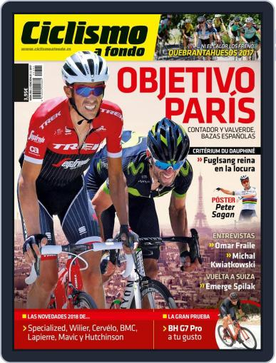 Ciclismo A Fondo (Digital) July 1st, 2017 Issue Cover