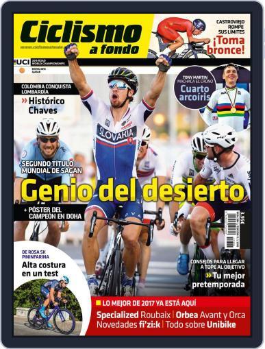 Ciclismo A Fondo (Digital) November 1st, 2016 Issue Cover