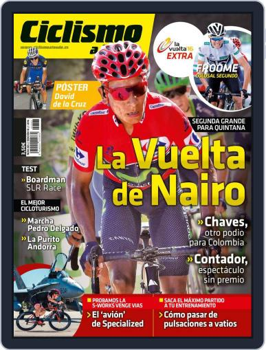 Ciclismo A Fondo (Digital) October 1st, 2016 Issue Cover