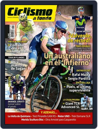 Ciclismo A Fondo (Digital) May 3rd, 2016 Issue Cover