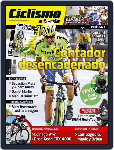 Ciclismo A Fondo (Digital) March 31st, 2016 Issue Cover