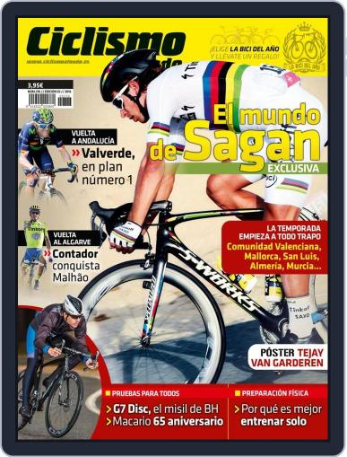 Ciclismo A Fondo (Digital) March 1st, 2016 Issue Cover