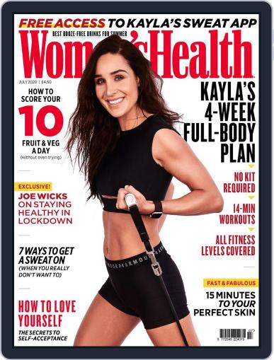 Women's Health UK (Digital) July 1st, 2020 Issue Cover