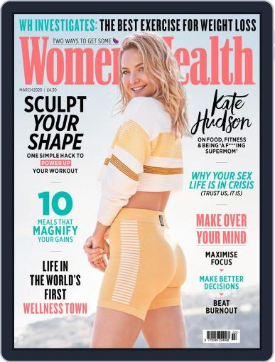 Women's Health UK (Digital) March 1st, 2020 Issue Cover