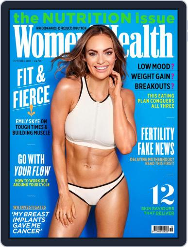 Women's Health UK (Digital) October 1st, 2019 Issue Cover