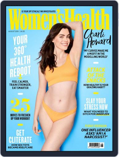 Women's Health UK (Digital) August 1st, 2019 Issue Cover