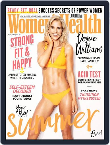 Women's Health UK (Digital) July 1st, 2019 Issue Cover
