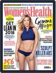 Women's Health UK (Digital) Subscription January 1st, 2018 Issue