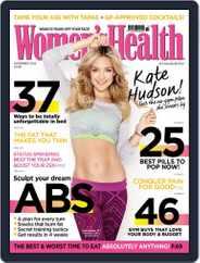 Women's Health UK (Digital) Subscription October 16th, 2014 Issue