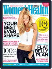Women's Health UK (Digital) Subscription April 2nd, 2013 Issue