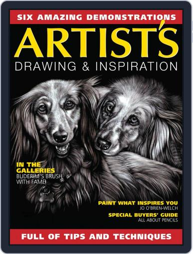 Artists Drawing and Inspiration June 1st, 2020 Digital Back Issue Cover