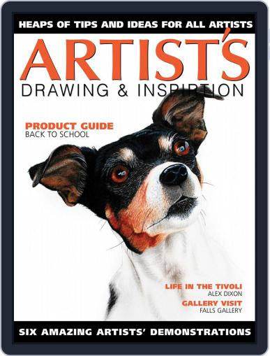 Artists Drawing and Inspiration June 1st, 2019 Digital Back Issue Cover