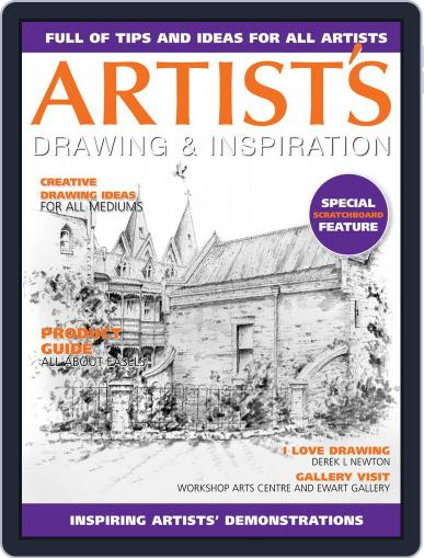 Artists Drawing and Inspiration February 1st, 2019 Digital Back Issue Cover
