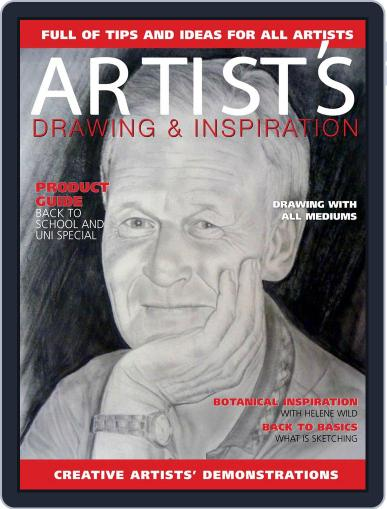 Artists Drawing and Inspiration April 1st, 2018 Digital Back Issue Cover