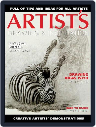 Artists Drawing and Inspiration December 1st, 2017 Digital Back Issue Cover