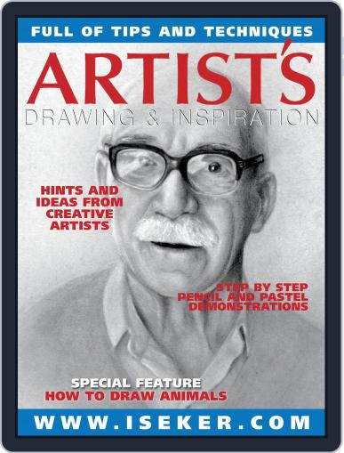 Artists Drawing and Inspiration August 1st, 2017 Digital Back Issue Cover