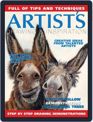 Artists Drawing and Inspiration April 1st, 2017 Digital Back Issue Cover