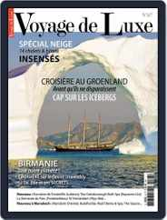 Voyage de Luxe (Digital) Subscription December 15th, 2015 Issue