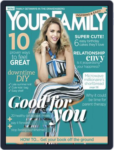 Your Family March 1st, 2019 Digital Back Issue Cover