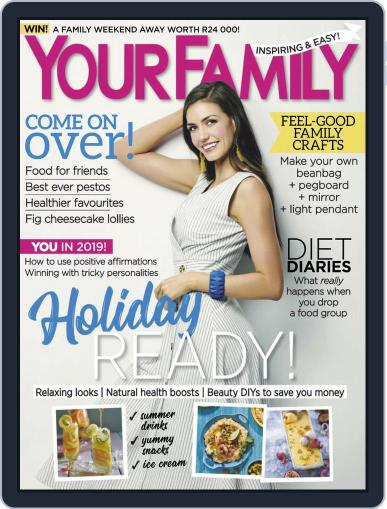Your Family January 1st, 2019 Digital Back Issue Cover