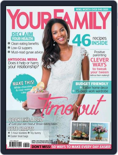Your Family (Digital) March 14th, 2016 Issue Cover