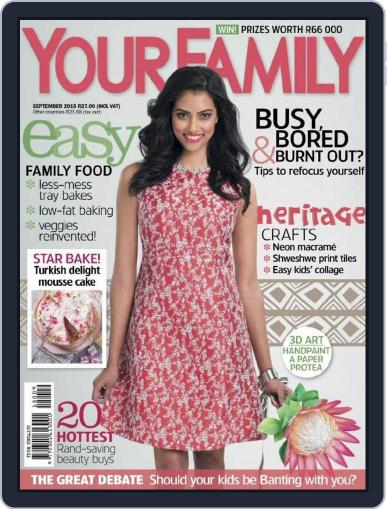 Your Family (Digital) August 16th, 2015 Issue Cover