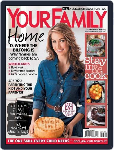 Your Family (Digital) June 13th, 2015 Issue Cover