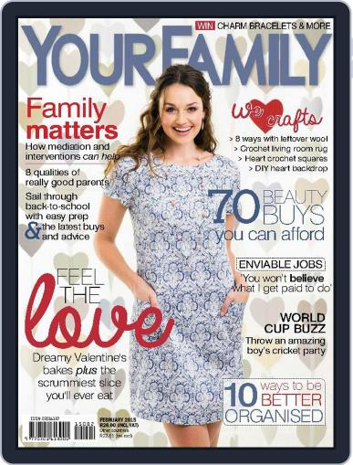 Your Family (Digital) January 31st, 2015 Issue Cover