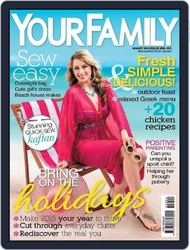 Your Family (Digital) December 31st, 2014 Issue Cover
