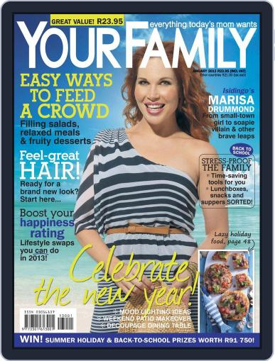 Your Family December 10th, 2012 Digital Back Issue Cover
