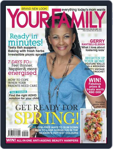 Your Family August 12th, 2012 Digital Back Issue Cover