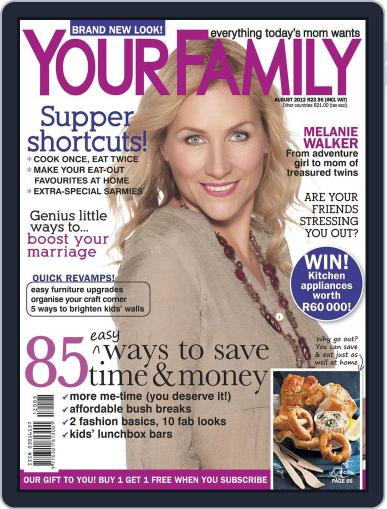 Your Family July 17th, 2012 Digital Back Issue Cover