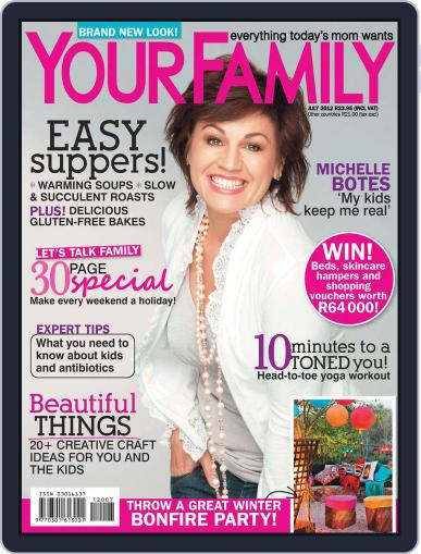 Your Family June 14th, 2012 Digital Back Issue Cover