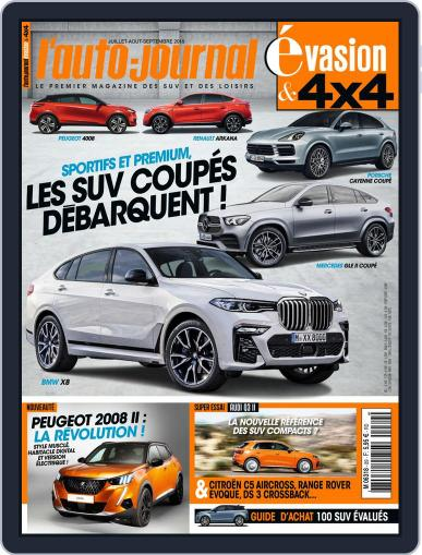 L'Auto-Journal 4x4 (Digital) July 1st, 2019 Issue Cover