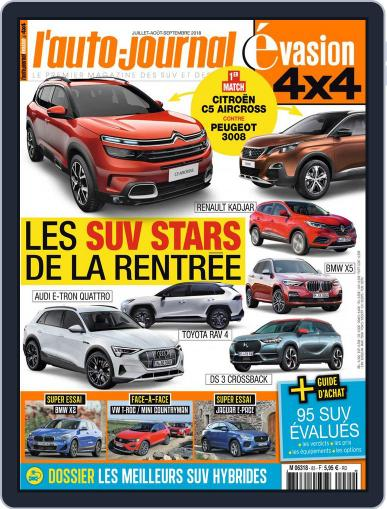 L'Auto-Journal 4x4 (Digital) July 1st, 2018 Issue Cover