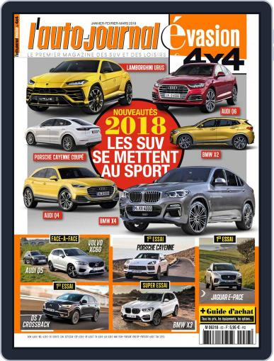 L'Auto-Journal 4x4 (Digital) January 1st, 2018 Issue Cover